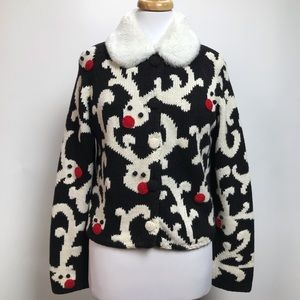 MICHAEL SIMON Rudolph Sweater Ugly Christmas